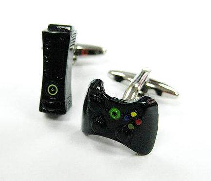 Black Xbox Cufflinks