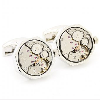 8 Watch Movement Silver/Silver