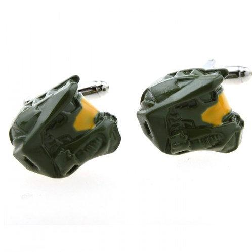 Military Helmet Cufflinks