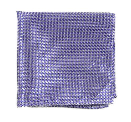 Bigh Tooth Lavender Pocket Square