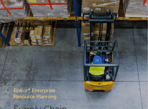 A highly effective supply chain is critical to the success of your strategic growth initiatives.
