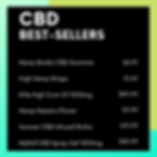 CBD Best Sellers 1Stop Smoke Shop
