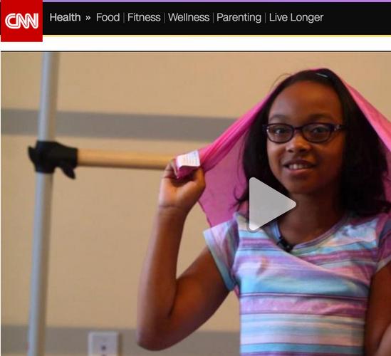 Azizi's contribution to CNN on Drama Therapy