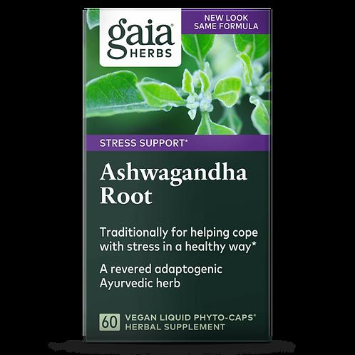 Gaia Herbs, Ashwagandha Root 60 vcaps