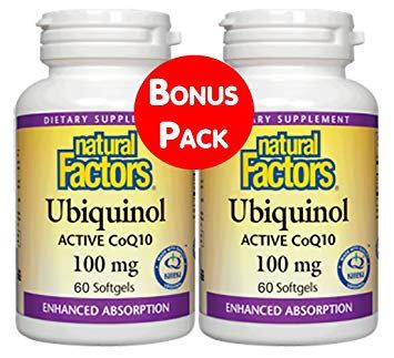 Natural Factors, Ubiquinol Pack
