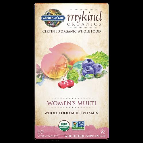 mykind Organics Women's Multi 60 CNT