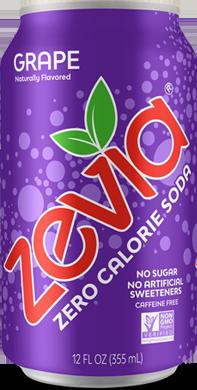 Zevia Soda, Grape