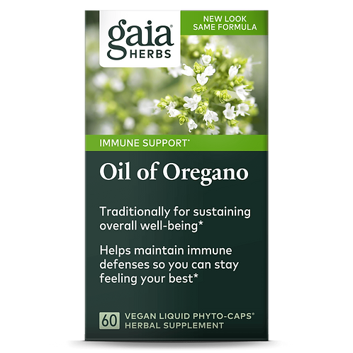 Gaia Herbs, OIL OF OREGANO , 60 caps