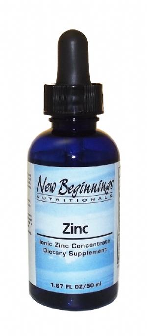 NB, Liquid Ionic Zinc (50 ml)