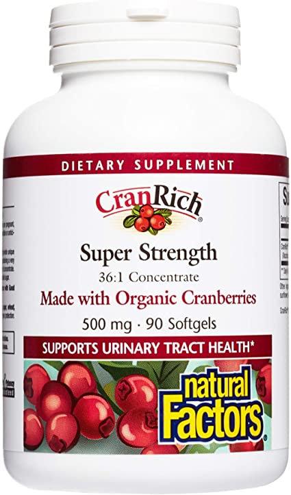 Natural Factors, Super Cranberry, ORG