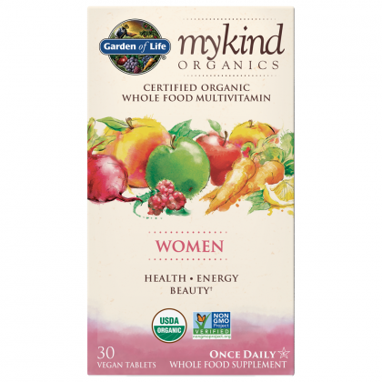 mykind Organics Women's Once Daily 30 CNT