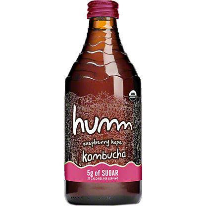 Humm Kombucha Rspberry Hops 16oz