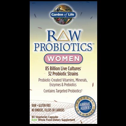 RAW Probiotics Women - 90ct. Capsule
