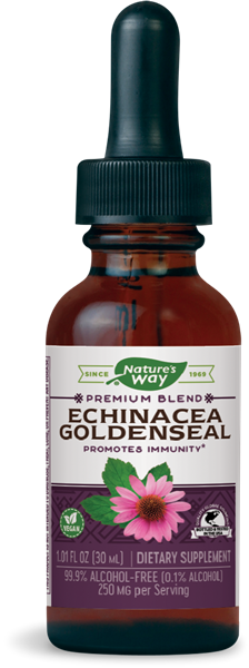 Nature's Way Echinacea-Goldenseal / 1 oz