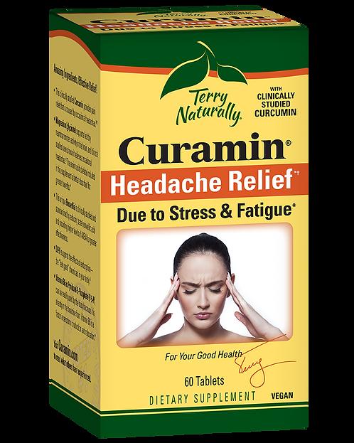 Terry Naturally, Curamin Headache, 21 Caps