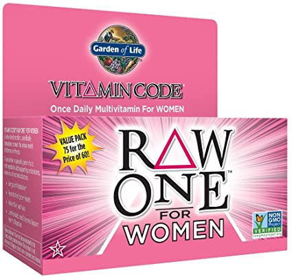 Vitamin Code - Raw One for Women - 75 CNT