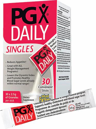 Natural Factor, Pgx Daily, Singles, 30sticks