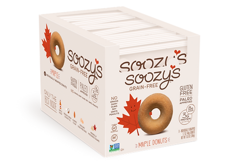 Soozy's Double Maple Donuts