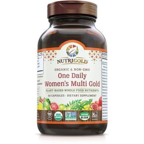 NutriGold, Women's Multi One Daily, 60 Caps
