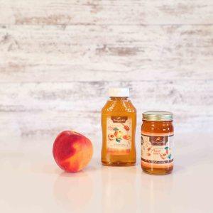 Peach Flavored Honey 11oz
