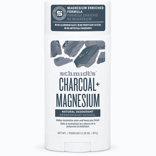 Schmidts Deodorant Stick Charcoal Magnesium