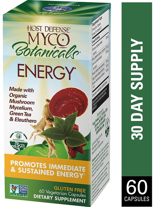 Host Defense, MycoBotanicals® Energy  60 Capsules