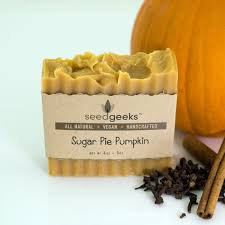Seed Geeks Sugar Pie Bar Soap
