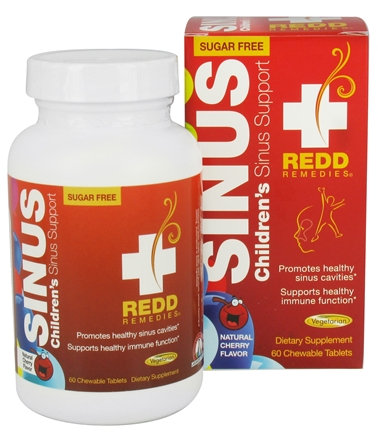REDD Remedies, Children's Sinus Support, 60 tabs