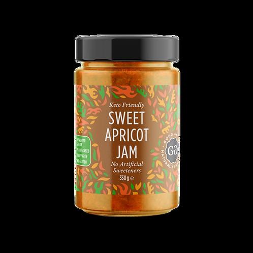 US Good Good, Sweet Apricot Jam – Keto Friendly