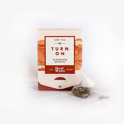 Turn On CBD Herbal Tea – 10 Sachet Box
