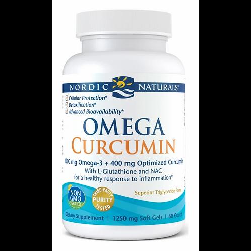 Nordic Naturals, Omega Curcumin 60 Cnts