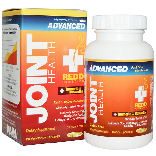 Redd Remedies, Joint Health Advanced, 60 capsules