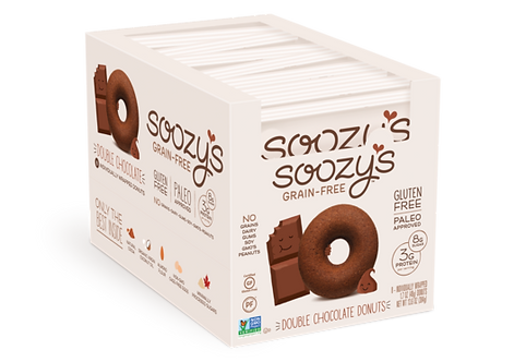 Soozy's Double Chocolate Donuts