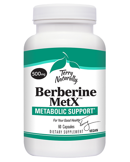 Terry Naturally, Berberine MetX 60 capsules