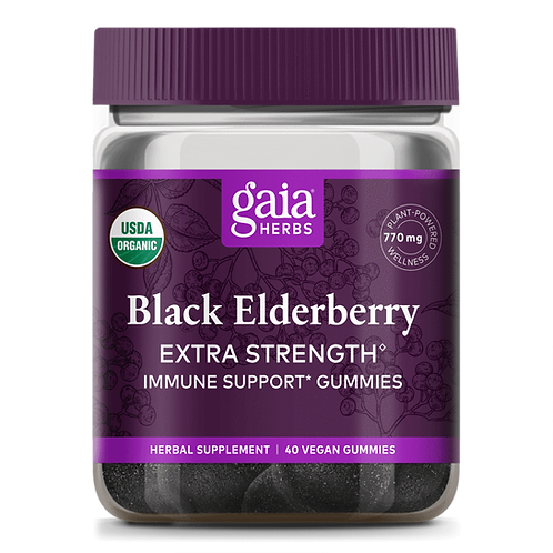 Black Elderberry Extra Strength Gummies 80 cnts