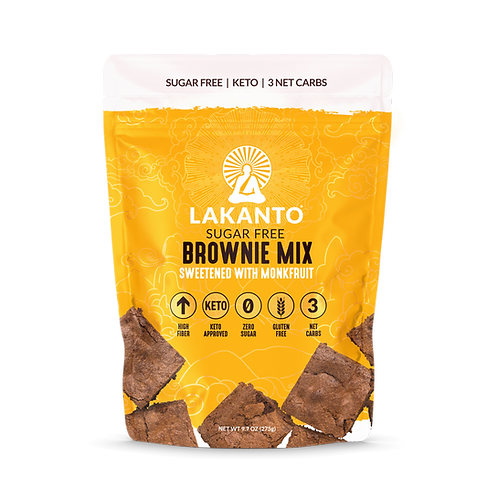Lakanto BROWNIE MIX - GLUTEN-FREE, LOW-CARB