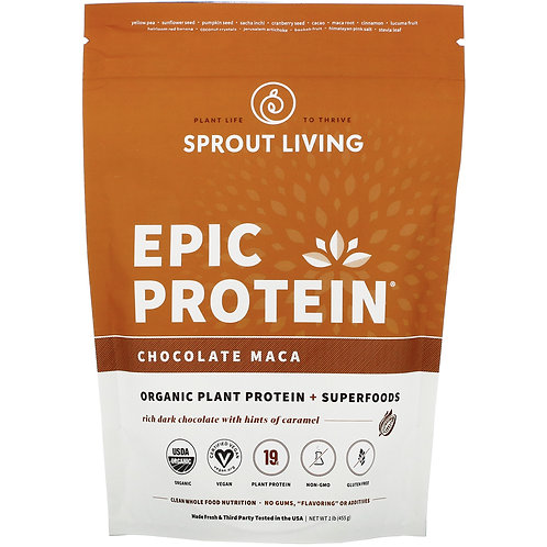 Epic Protein,Chocolate Maca, 16oz