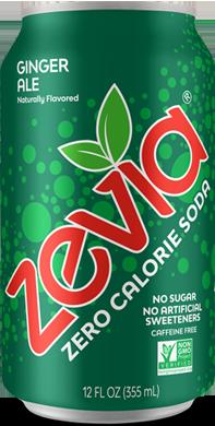 Zevia, Ginger Ale Soda