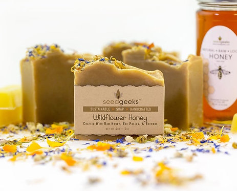 Seed Geeks, Wildflowers Bar Soap