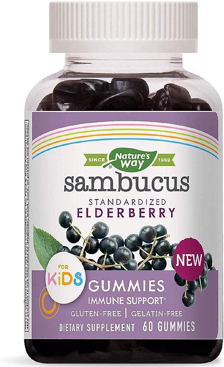 Natures Way, Sambucus Gummies
