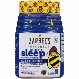 Zarbee's Naturals, Children's Sleep with Melatonin Gummies