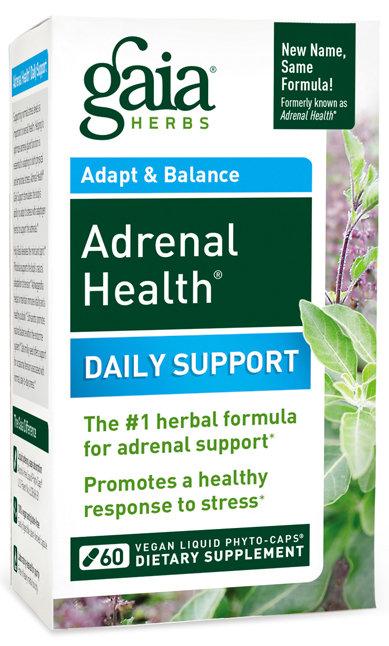 Gaia Herbs, Adrenal Health, 120 capsules