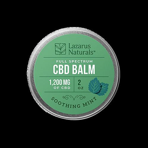 Lazarus Naturals, CBD Balm 1200mg Mint
