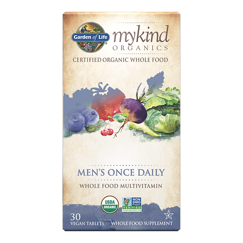 mykind Organics Men's Once Daily 30 CNT