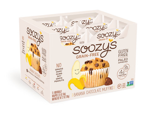 Soozy's Banana Chocolate Muffins