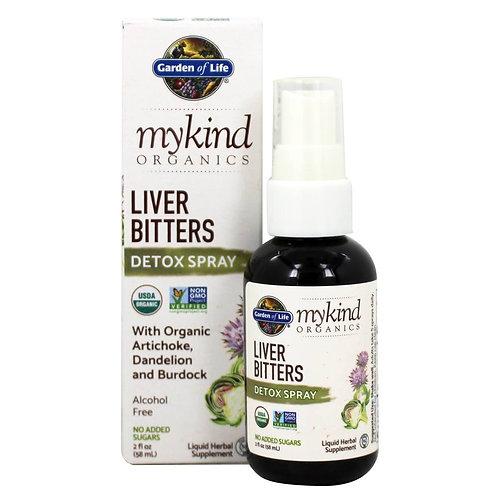 GOL, MyKind Lever Bitters Detox Spray