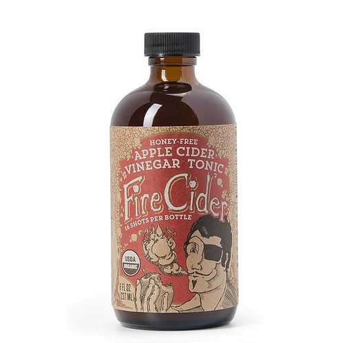 Fire Cider | 8 oz | Honey-Free | Apple Cider Vinegar and Spice Tonic