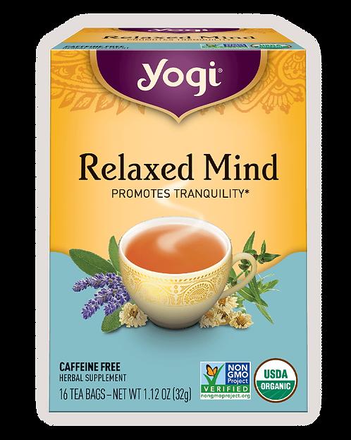 Yogi Teas Relaxed Mind Tea
