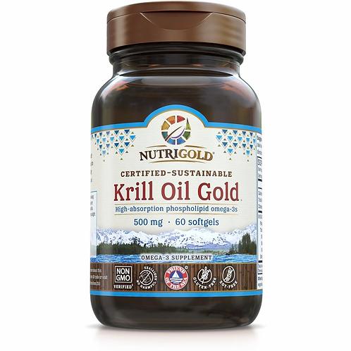 NutriGold, Krill Oil 500mg 60 Sg