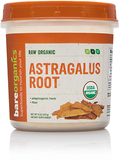 BareOrganics, Astragalus Root Powder 8oz